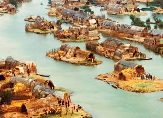 Kamıştan cennet: Irak'ın yüzen evleri
