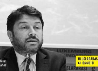 Uluslararası Af Örgütü Türkiye Şubesi Yönetim Kurulu Başkanı'nı derhal serbest bırakın