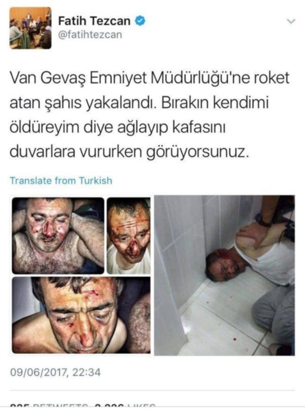 """İşkence edilerek medyaya fotoğrafları servis edilen """"teröristler"""" serbest!"""