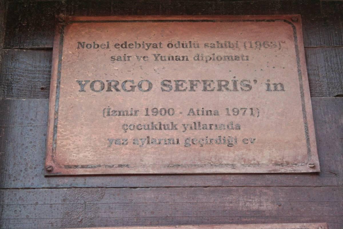 """Türkiye'nin ilk nobel ödüllü yazarı """"Yorgo Seferis"""""""