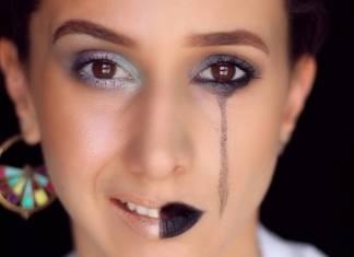Filistinli sanatçı küresel sorunlara dikkat çekmek için makyajı kullanıyor