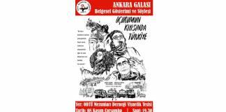 Uçurumun Kıyısında Türkiye Ankara Galasına davetlisiniz