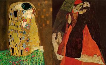 Klimt ve Schiele: Avrupa'yı dehşete düşüren ressamlar