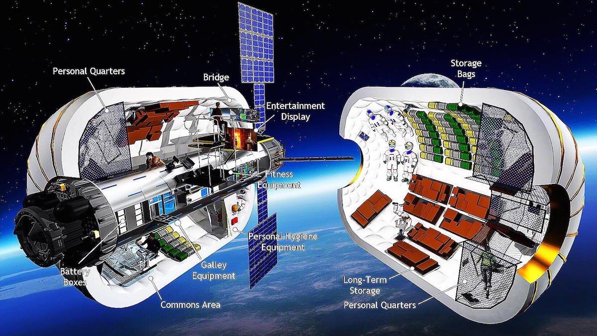 İlk Lüks Uzay Oteli